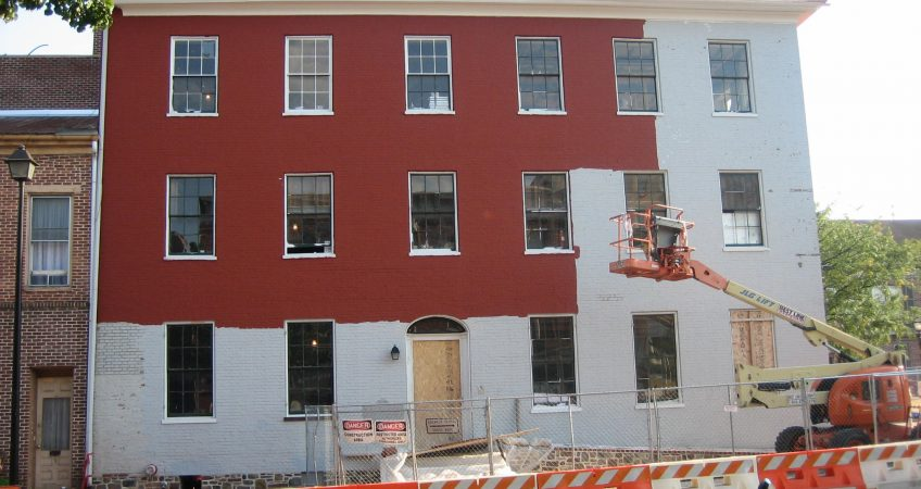 commercial exterior painting toronto